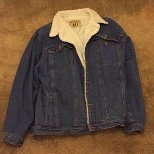 Other - Sherpa Jean jacket